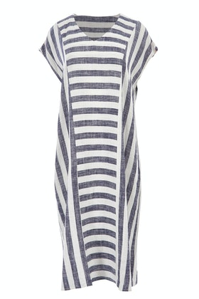 Clarity By Threadz Spliced Dress