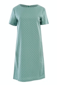 The Linen Blend Shift Dress