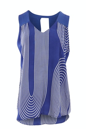 bird keepers The Curve Striped Tank