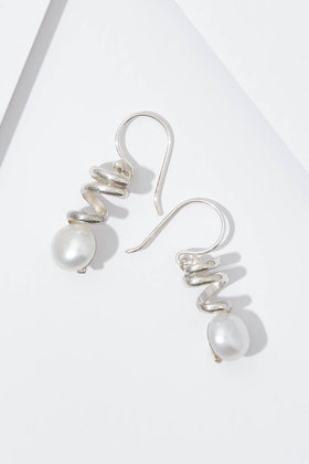 Lush Designs Staircase To The Moon Earrings