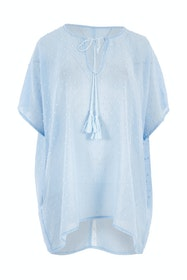Belle Flocked Tunic