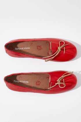 Django & Juliette Ballad Leather Flat