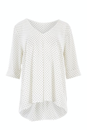 Belle bird Belle Polka Dot Blouse