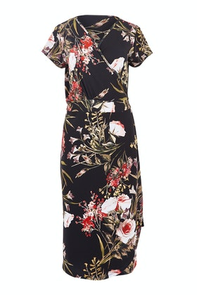 Belle bird Belle Orange Blossom Wrap Dress
