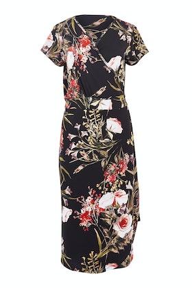 Belle bird Belle Orange Blossom Wrap Dress