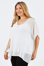 Belle bird Belle Flocked Tunic