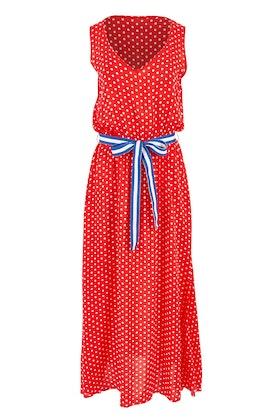 handpicked by birds Tie Waist Maxi Dress