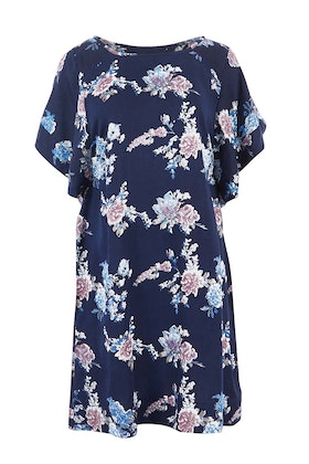 handpicked by birds Relaxed Floral Shift Dress
