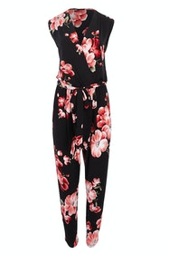 Printed Frontcross Jumpsuit
