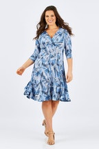Rebecca Ruby Scarlett Panel Dress