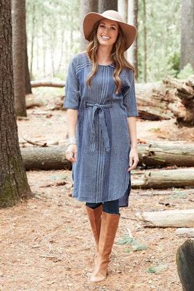 Talisman Palmwood Tunic Dress