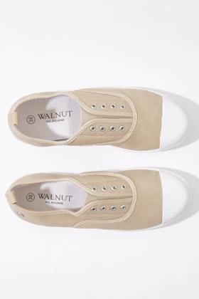 Walnut Euro Elastic Plimsole