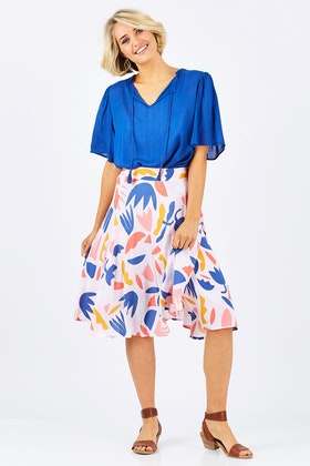 Elm Secret Garden Wrap Skirt