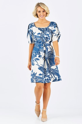 Sacha Drake Bow Bridge Dress