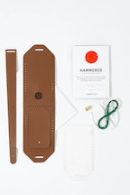 Hammered Leatherworks Leather Whisk Luggage Tag Stitch Your Own Kit