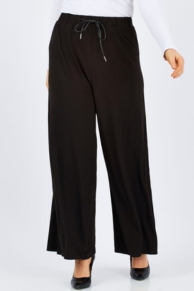 PQ Collection Bamboo Wide Leg Pant