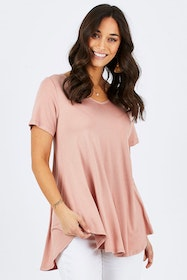 Softly Swinging Bamboo Tee