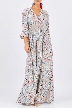 boho bird Amalfi Maxi Dress