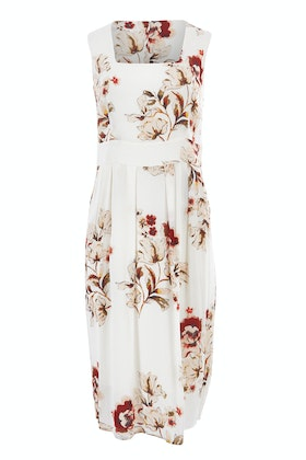 bird by design The Printed Square Neck Dress