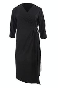 The Asymmetrical Wrap Dress