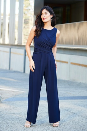 bird by design The Cross Waist Jumpsuit