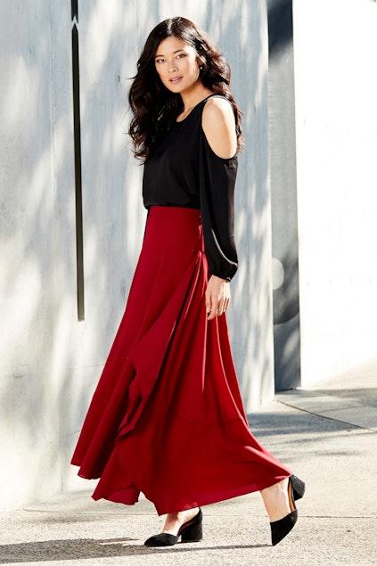 bird by design The Flowy Skirt - Womens Long Skirts at Birdsnest Fashion ba2c9aed2