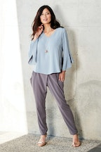 bird by design The Cross Front Dress Pant