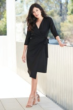bird by design The Asymmetrical Wrap Dress