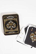 Wild & Wolf Gentlemen's Hardware Survival Playing Cards