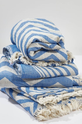 Hammamas Hammamas Chevron Towel