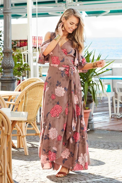 8ff1690cbc46 boho bird Garden Party Maxi Dress - Womens Maxi Dresses - Birdsnest Online  Store