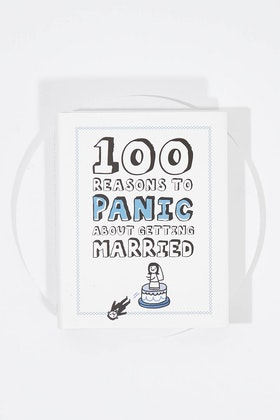 IS Gifts 100 Reasons To Panic About Getting Married Book