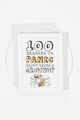 IS Gifts 100 Reasons To Panic About Being Grown Up