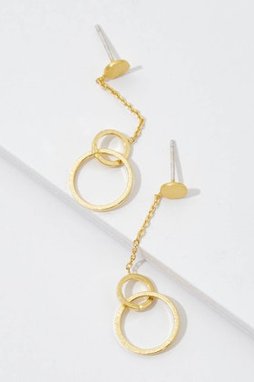 Jolie & Deen Live Circle Earrings