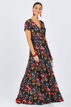 boho bird Data Notte Maxi Dress