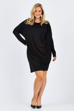 Belle Jersey Drapey Dress