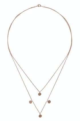 Jolie & Deen Two Layer Maya Necklace