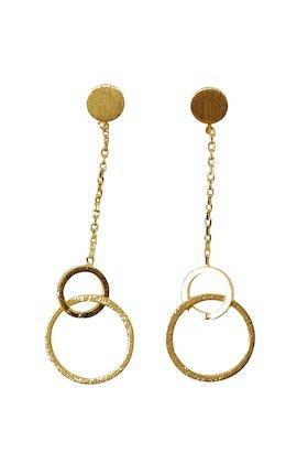 Jolie & Deen Live Circle Earrings