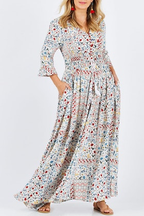 boho bird Amalfi Maxi Dress