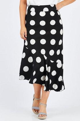 boho bird Bellissimo Skirt