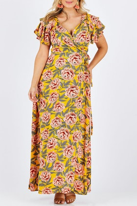 boho bird Bellezza Maxi Dress