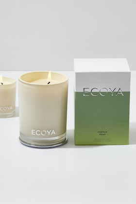 Ecoya Madison Jar French Pear Candle