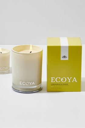 Ecoya Madison Jar Lemongrass And Ginger Candle
