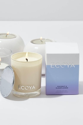 Ecoya Mini Madison Coconut & Elderflower Candle