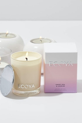 Ecoya Mini Madison Sweet Pea And Jasmine Candle