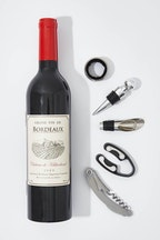 IS Gifts Wine Bottle Accessory Kit