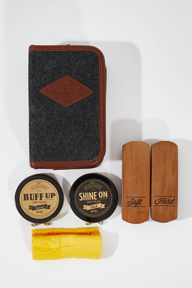 Wild & Wolf Gentlemen's Hardware Shoe Shine Kit