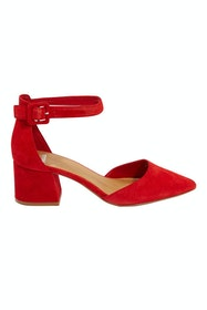 Raems Suede Leather Heel