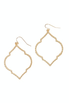 GxG Collective Karen Triple Gold Vermeil Earrings