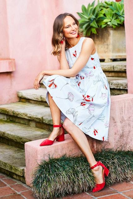 a4184d4fce73b7 that bird label Beth Fit And Flare Dress Vistoso - Womens Knee Length  Dresses - Birdsnest Online Fashion
